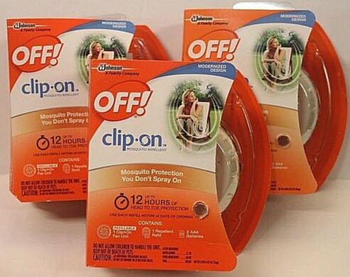 Off Clip on Repellent