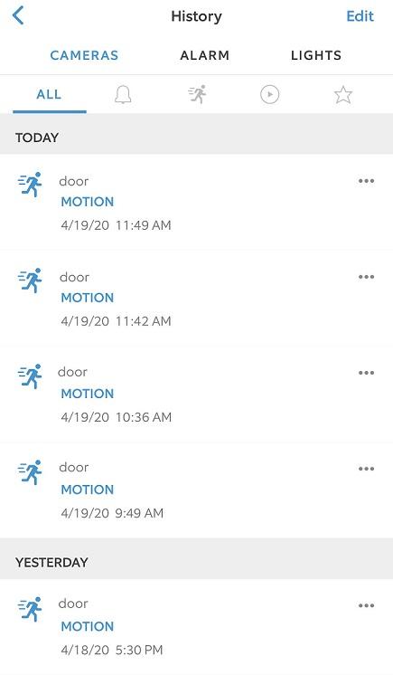 Ring Mobile Alerts